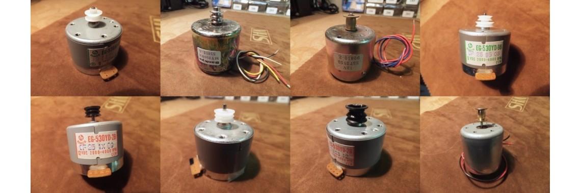 Cassette Deck Motors