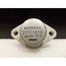Hitachi 2SC1413 NPN Silicon Transistor 2320961 TO3, TO-3