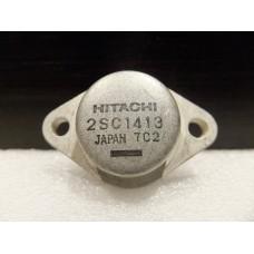 Hitachi 2SC1413 NPN Silicon Transistor 2320961 TO3, TO-3