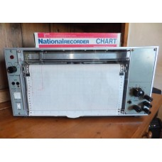 A Vintage National 135A-2, 1 Pen Chart Recorder