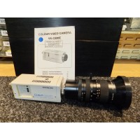 Hitachi VK-C220E Colour Video Security CCTV Camera with Fujinon 7083981 E6X14AM Professional TV Zoom Lens