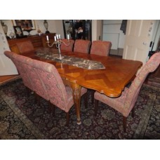 Antique French Louis XV 2 Leaf Dining Table