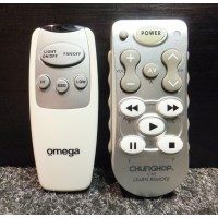 Omega Ceiling Fan Remote Control Replacement Version V7 White also for Hunter brand