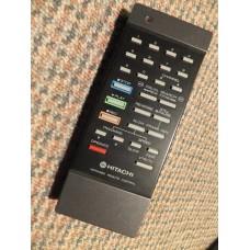 Hitachi VT7E VT8E VCR Remote Control 5639859