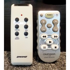 Omega Ceiling Fan Remote Control Replacement Version V5