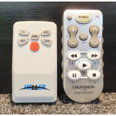 Heller Ceiling Fan Replacement Remote Control V1