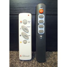 Ultimate Log Fire Heater Replacement Remote Control V1