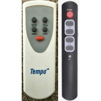 Tempo Fan Replacement Remote Control Version V1