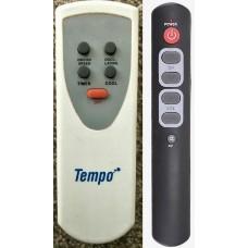 Tempo Fan Replacement Remote Control Version V1