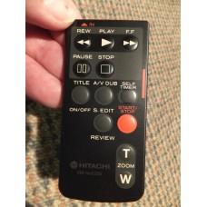 Hitachi VM-RME25E VMRME25E 8mm Video Camera Camcorder Remote Control 5615283 VME25E etc.