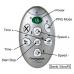 Genki VibroFit vibration board Replacement Remote Control for Models YD-1008B, YD-1008G, YD-1008R, YD-1008W etc.