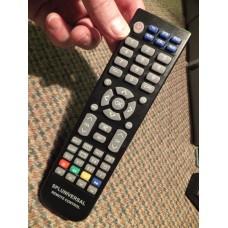 Soniq SPLUNIVERSAL TV DVD Remote Control for QSP425T E22Z10A IV190T IV220T IV220TV2 QV173LTI QV193LTI SPE22Z10A005 SPQV173LTI003 SPQV193LTI002