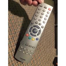 Toshiba CT-90126 CT90126 TV VCR DVD Remote Control 23306643 23306590 for 26WL46A 32WL46A 32WL48A 37WL48A 42WP48A 27WL55A 32WL55A 37WL55A 42WL55A 42WP56A 62CM9UA 72CM9UA 52JM9UA 62JM9UA