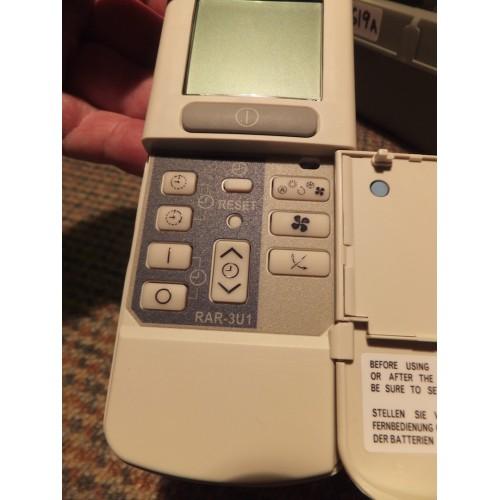 hitachi rar 3u1 remote manual