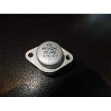 Hitachi 2SJ49 Silicon P-Channel MOS FET Transistor 2328542 T03, T-03
