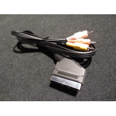 Hitachi RCA to Scart (Euro) Stereo Audio Input Cable 1.5M