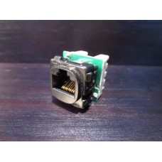 Clipsal RJ Series Modular Wall Plate Mount Phone Socket 30RJ64SMT