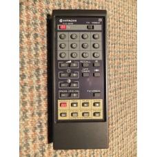 Hitachi CLE-862B CLE862B TV VCR Remote Control 2970072 CMT2110