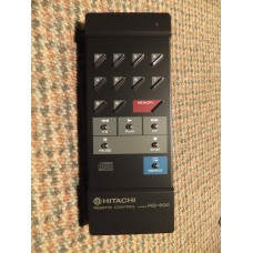 Hitachi RB-600 RB600 CD Player Remote Control 40269522 DA600 etc.