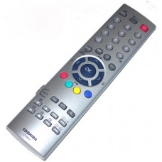 Toshiba CT-90101 CT90101 TV VCR DVD Remote Control 23306435 TW50140 TWD50140 also for Argos TVs
