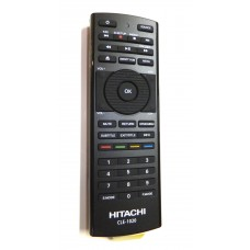 Hitachi CLE-1020 CLE1020 Smart TV Remote Control with Keyboard on rear for UZ557000 UZ6100 & UZ67000 Series  VZ556100 VZ656100 and all 6100 and 7000 series Smart TVs