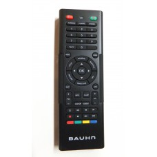 Bauhn LED LCD Smart TV Remote Control ATVS48 ATVS48-0616-REM with keyboard on rear