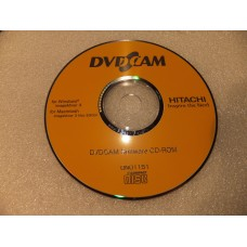 Hitachi DVDCAM ImageMixer3 Video Camera Camcorder Software CD-ROM DN01151 DN01161 DN01163 for Windows and Macintosh Mac Edition