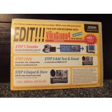 ULEAD DVD Camera Camcorder VideoStudio4 Video Studio 4.0 Software A29-440-01E for Hitachi DZ-MV100 DZMV100 etc. etc. etc. Cameras. For Windows 95, 2000 and NT PC's