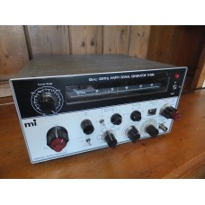 A Vintage 1979 Marconi TF2016 Type No. 52016-900S 12 Band AM/FM RF Signal Generator made in U.K. by Marconi Instruments Ltd.